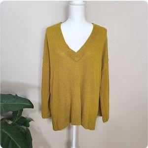 BP Mustard Pullover Sweater XL